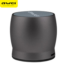 Awei Y500 Mini Bluetooth Speaker 3D Stereo Laptop Portable Wireless Speaker TF Card Audio USB Music Player PC Speaker(China)