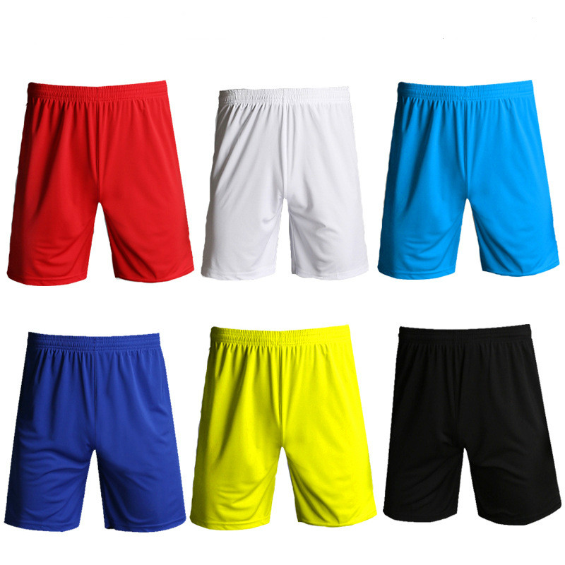 Solid Football Training Shorts Mens Summer Bottoms Running Basketball Soccer Shorts Kids Boys Tennis Badminton Sports Shorts