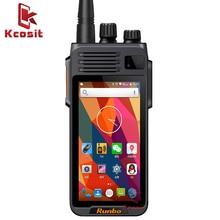 China Runbo K1 IP67 Wasserdichte Telefon Robuste Android Smartphone Quad Core DMR Digitale VHF Radio UHF PTT Walkie Talkie GPS 4G LTE