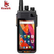 China Runbo K1 IP67 impermeable del teléfono resistente Android Smartphone Quad Core DMR Digital Radio VHF UHF PTT walkie talkie con GPS 4G LTE