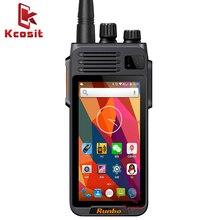 Китайский Runbo K1 IP67 водонепроницаемый телефон прочный Android смартфон четырехъядерный DMR цифровой VHF радио UHF PTT рация GPS 4G LTE