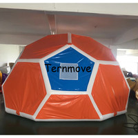 Family Camping Backyard Inflatable Bubble Tent inflatable Lawn Dome hiking football soccer beach wedding Tent free shipping