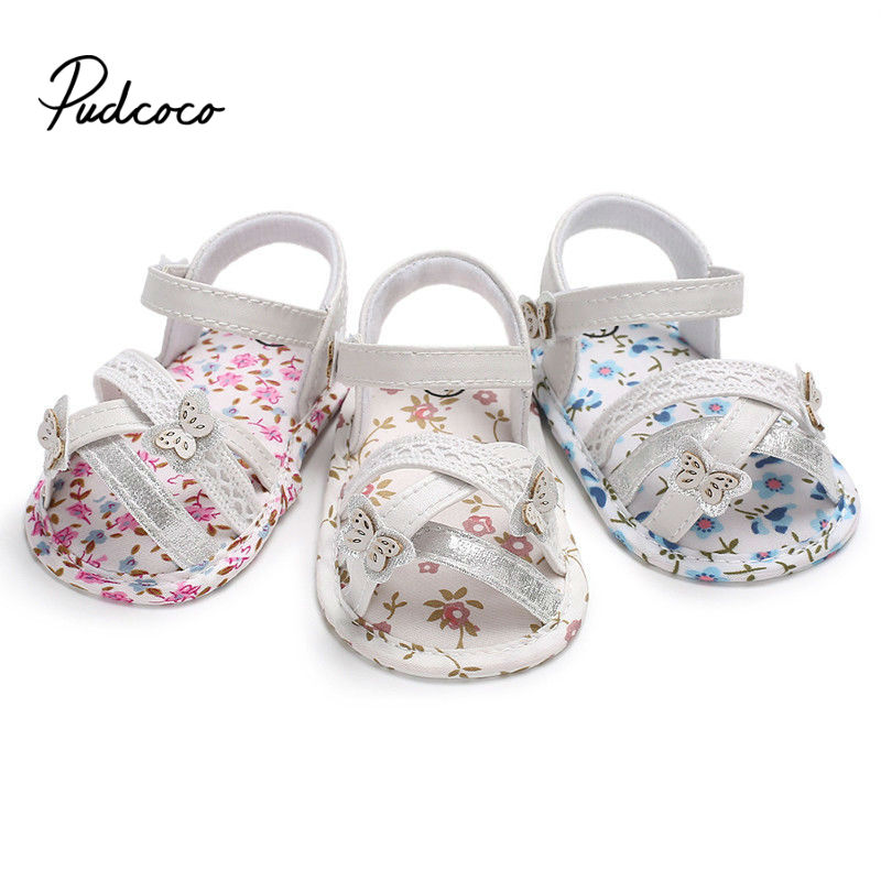Baby Shoes Sandals For Girls Cotton Baby Shoes Fashion Newborn Bow Baby Girl Shoes Cotton Princess Sandals Baby Girl Shoes