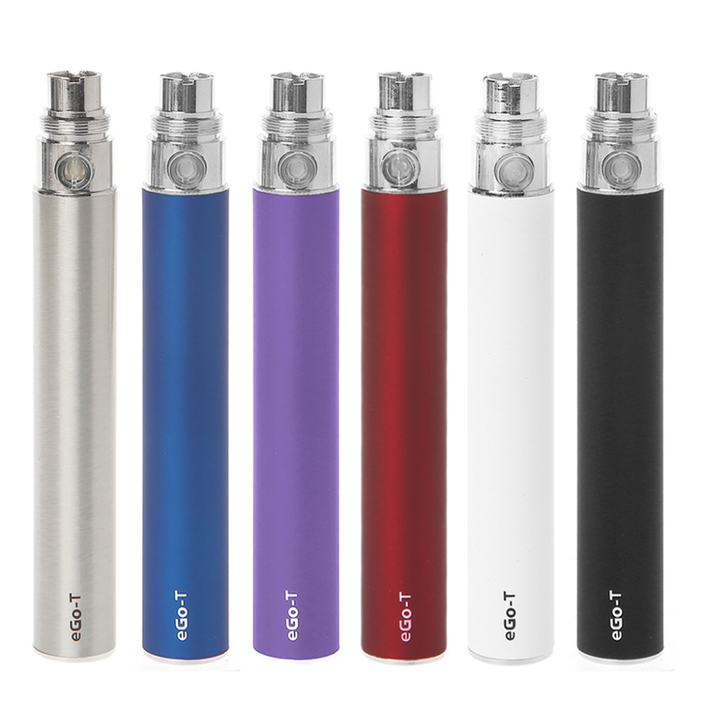 Ego-T 1100mAh Battery Electronic Cigarette 510 Thread Vape Pen For CE4 CE5 Evod H2 T3S Atomizer ce4 e ego t 650mah 900mah 1100mah ce4 ce4 kits