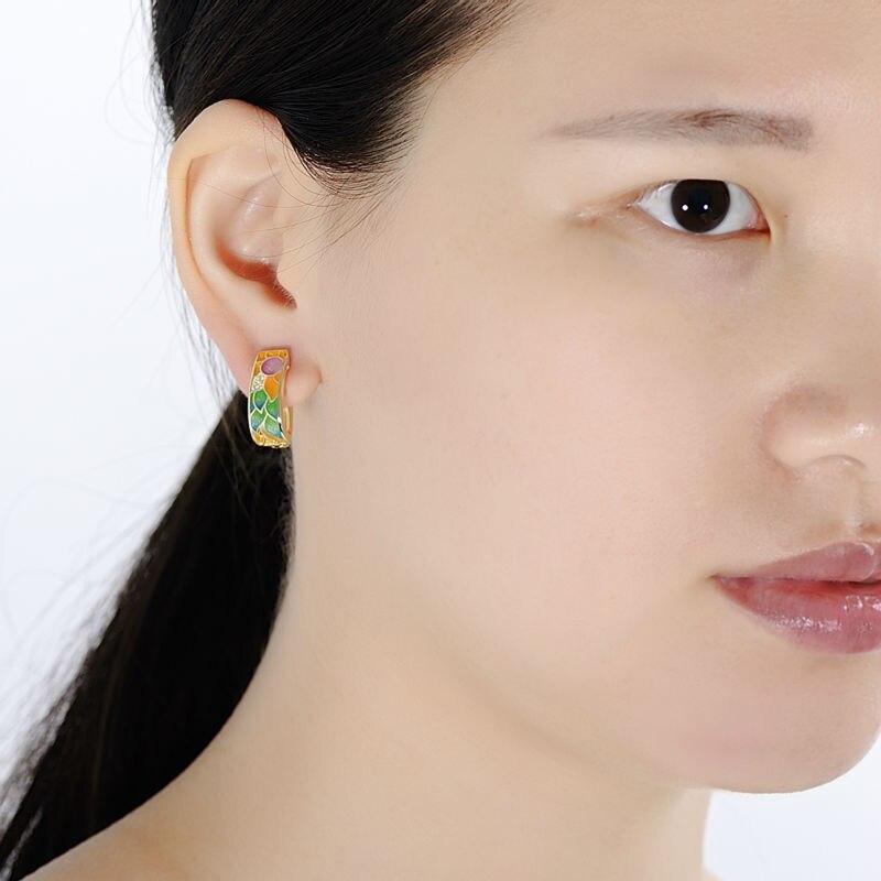 SANTUZZA ασημένια σκουλαρίκια για - Κοσμήματα μόδας - Φωτογραφία 6