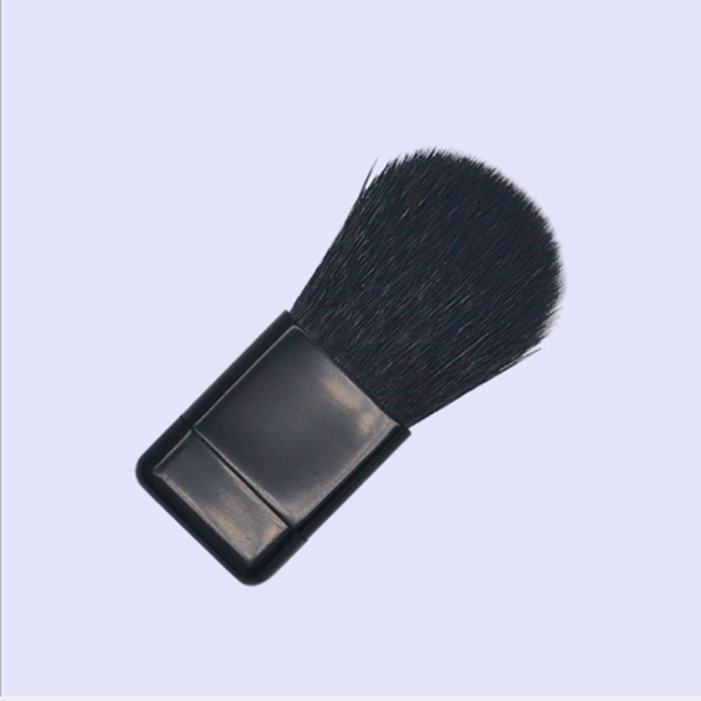 wholesale Makeup Brushes 1pc Portable Soft Touch Comfortable Balck Nylon basic Blush Powder Natural Maker horse hair for brushes