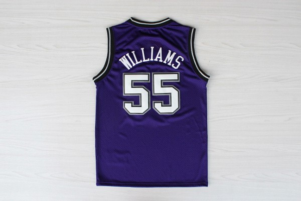 sneakers for cheap 459a5 fe37f Sacramento White Chocolate #55 Jason Williams basketball ...