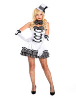 Halloween Cosplay European retro palace luxury evening gown dress real shot uniform temptation sxey