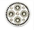 33mm de Lujo Romántica Belleza de La Moneda en forma de Disco Que Chispea Portamonedas Colgante Collar 1 unids