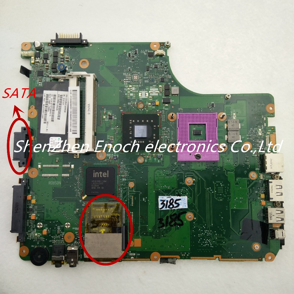 For toshiba satellite  A300 laptop motherboard integrated  6050A2169901-MB-A02 V000126620 SATA DVD  stock No.888