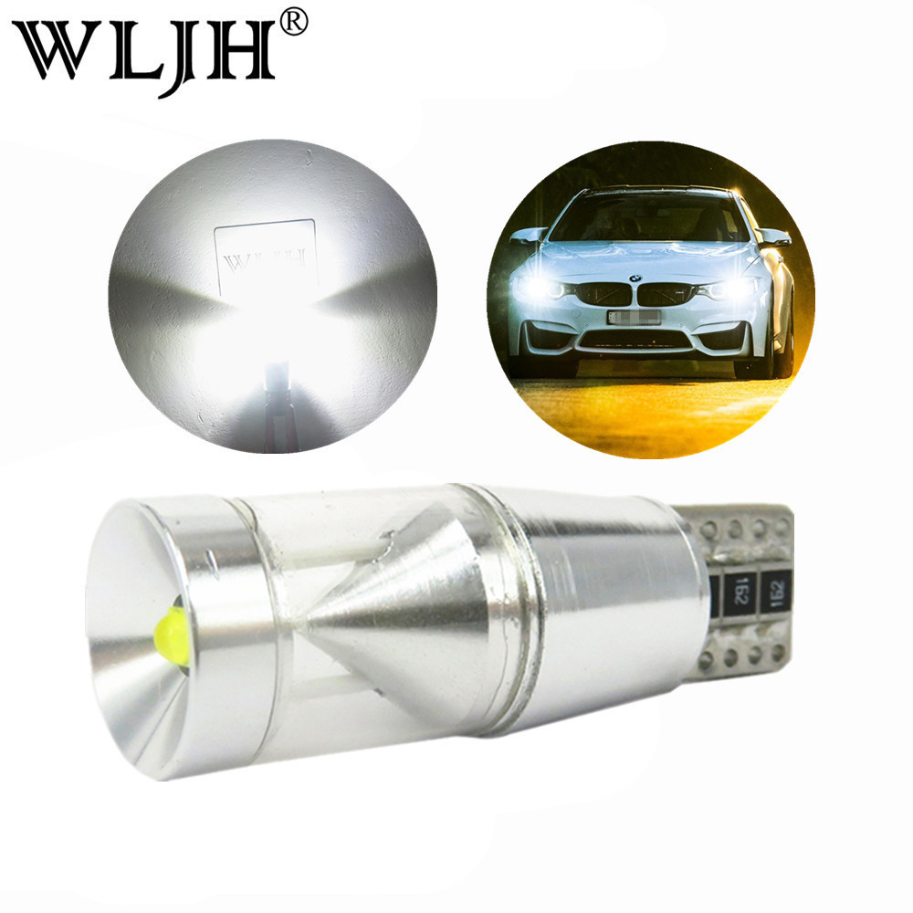 WLJH 2x Canbus 500lm 9W Led T10 W5W Parking Lights Sidelight For Mercedes-Benz W203 W211 W204 W202 W220 W210 W124 W222 X204 W164 for mercedes benz w202 w220 w204 w203 w210 w124 w211 w222 x204 w164 t10 w5w 24 led 4014smd parking lights sidelight no error
