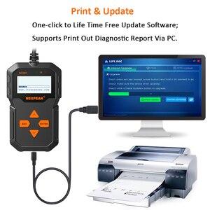 Image 4 - NX301 OBDII herramienta Universal de diagnóstico de automóviles lector de código Scanner herramienta de escáner de diagnóstico OBD2 herramienta mejor que ELM327 AD310