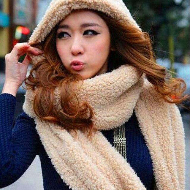 Las mujeres sombrero de invierno con bufanda Guantes moda caliente kawaii  lindo lana tapas sombrero para a70703a04a8