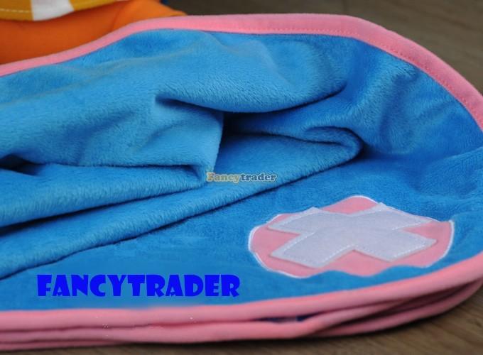 Fancytrader 16\'\' 40cm Copyrighted  Plush Stuffed Tony Tony Chopper with schoolbag & Towel FT90425 (6)