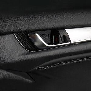 Image 5 - ABS Tampa Alça Tigela Porta Interior Guarnição Adesivos de Carro Styling Moldagem Interior Para Honda Accord X 10th 2018 2019 2020 Acessórios