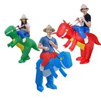 Easter Carnival Childrens Inflatable Dinosaur T Rex Fancy Dress 90 130cm Kids Fancy Dress Costume Dragon