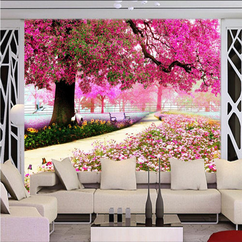 Online Buy Wholesale cherry blossom bedroom from China cherry ...