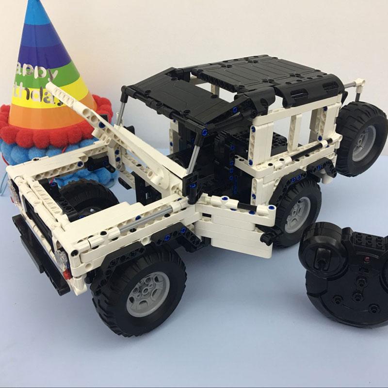 453PCS Blocks Toy Rc Remote Control Car Parade  Building Bricks Technic Series