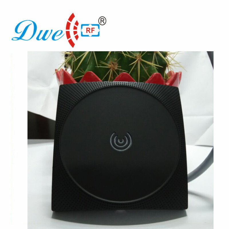 DWE CC RF reader 13.56mhz mf wiegand 26  waterproof IP65 for access control system 002B rfid proximity reader dwe cc rf rfid card reader 125khz emid or 13 56mhz mf wiegand 26 backlight keypad reader for access control system 002p