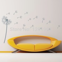 Leader Accessories Nursery Kid Room Removable Dandelion Wall Decal Sticker Decoration fashion Removable PVC custom made Poster