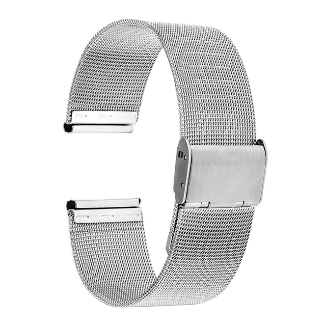 16mm 18mm 20mm 22mm Milanese Watchband for CK (Calvin Klein) Men Women Watch Band Mesh Stainless Steel Strap Bracelet + Tool Pin