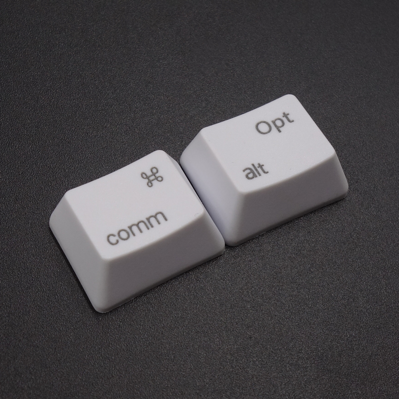 PBT keycaps Commond And Option Keys Cherry MX Key Caps For MX Switches Mechanical Gaming Keyboard
