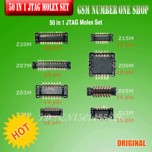 100%original 50 in 1 JTAG Molex Set by MOORC