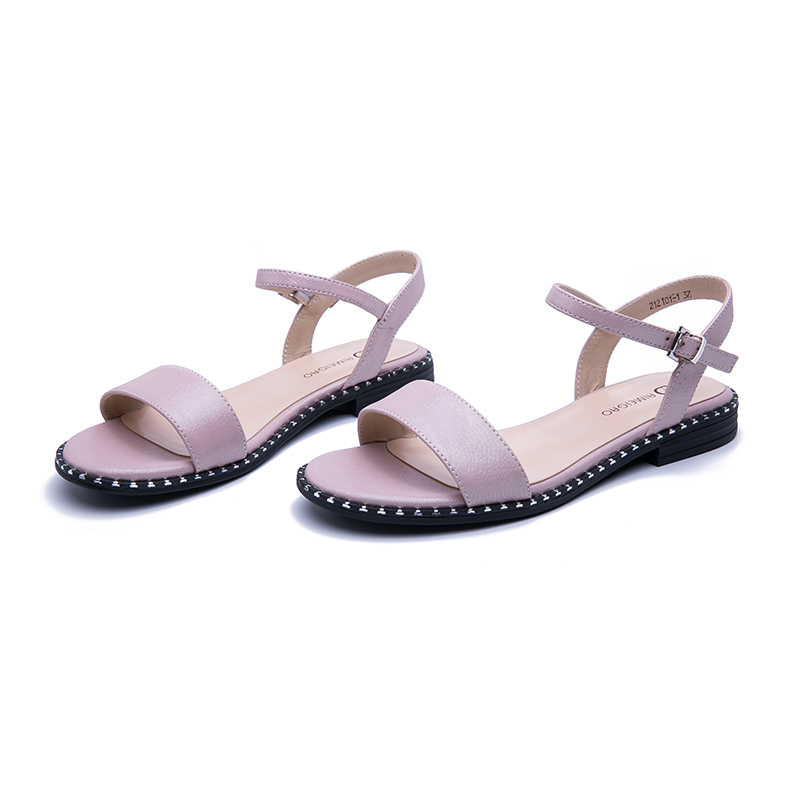 AIMEIGAO 2019 New Summer Sandals Women Casual Flat Sandals Comfortable Sandals For Women Large Size Women's Shoes