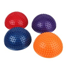 Yoga Durian Ball Massage Mat Trigger Point Half ball Body Muscle Physical Fitness Sport GYM Workout Balance Ball
