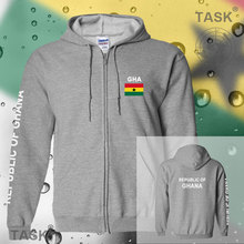 Ghana Ghanaian GHA hoodies and sweatshirt jerseys polo sweat suit streetwear tracksuit nation fleece zipper flag 2017 casual GH