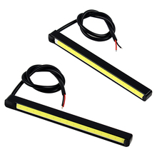 2pcs Car-styling DC 12V Driving Fog Lamps Light Source COB Car DRL 10.5cm LED Daytime Running lights Auto Accessories #iCarmo
