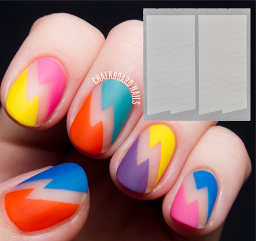 1 sheet creative french nail art manicure stripe edge tip guides 1 sheet creative french nail art manicure stripe edge tip guides nail art tools prinsesfo Choice Image