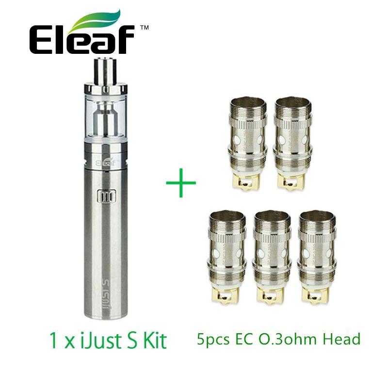 السيجارة الإلكترونية Eleaf iJust S Full Kit 3000 مللي أمبير مع 5 قطع Eleaf EC