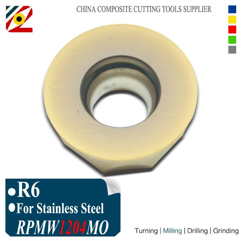 EDGEV R6 RPMW1204MO RPMW1204 MO EP6350 Inserti in metallo duro per - Macchine utensili e accessori - Fotografia 1