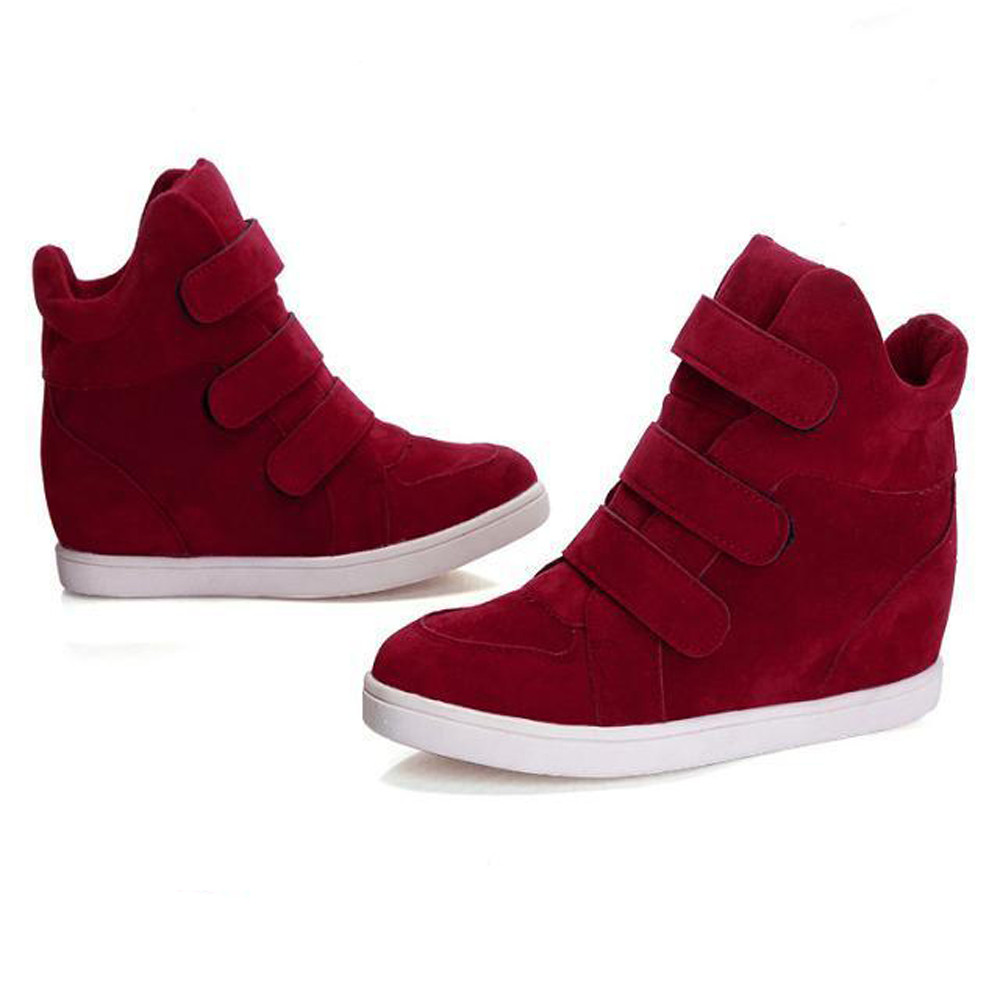 8a1cfe57682844 High quality canvas women shoes autumn winter hidden heel flock jpg  1000x1000 Konga female sneakers