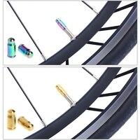 French MTB Bike Bicycle Valve Caps Wheel Tyre Dust Cover Valve Cap Nozzle 2Pcs Fi