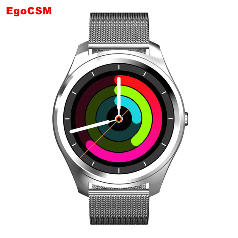 EgoCSM Z4 Smart Watch Heart Rate Monitor Watch Pedometer SMS WhatsApp Notification Smartwatch for iPhone Android phone