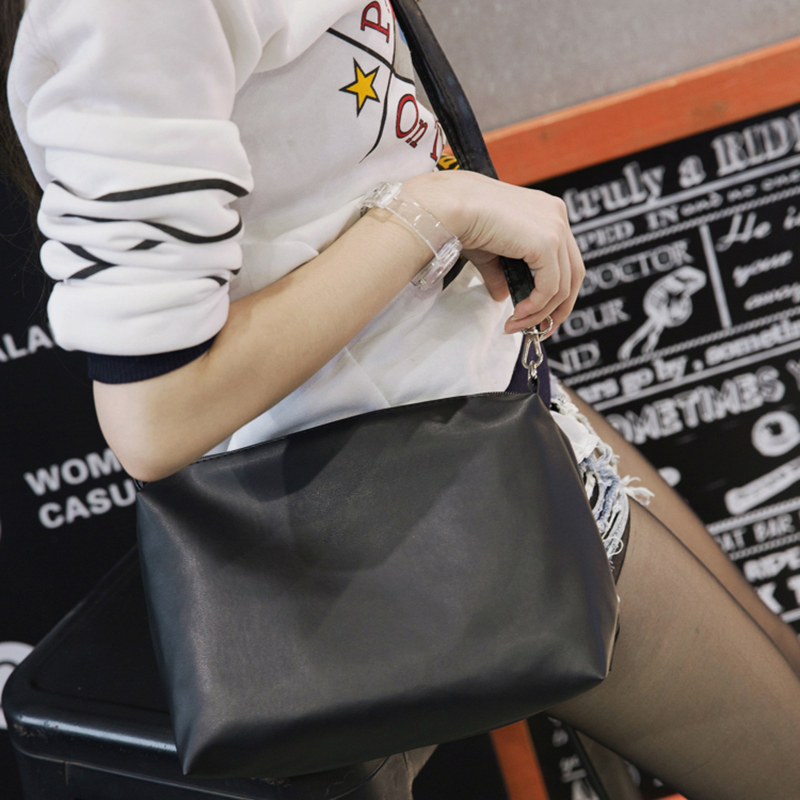 New Women's Handbag PU Leather Vintage Single Shoulder Bag Women Messenger Bags Crossbody Handbags For Ladies Bolsa Feminina feral cat ladies hand bags pvc crossbody bags for women single trapeze shoulder bag dames tassen handbag bolso mujer handtassen