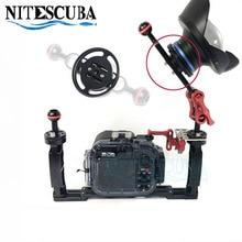 NiteScuba Dalış M52 M67 adaptörü dağı için 52mm 67mm konu Lens adaptörü ve TG5 TG4 RX100 Canon Kamera kılıf Sualtı Fotoğraf