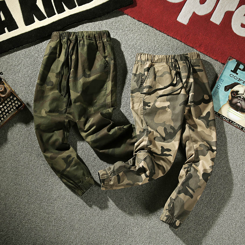 4349a126d60 SeaSunLand Men Joggers Camouflage Pants Mens Summer Army Casual Harem Pants  Military Trousers New Fashion Fitness sweatpants
