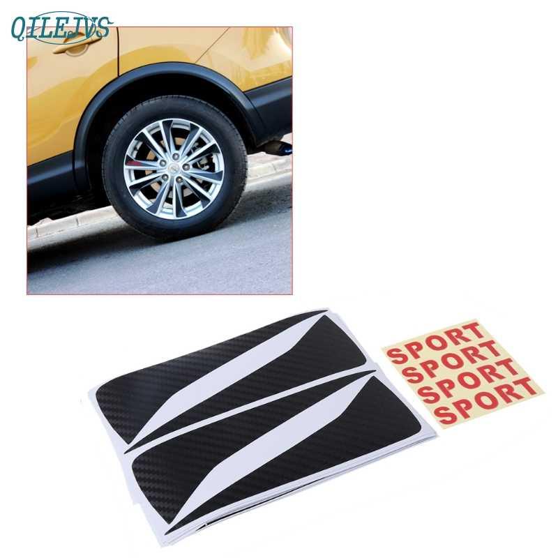 Hot Koop Carbon Fiber Auto Velg Hub Stickers Voor Nissan Qashqai j11 Apr-10