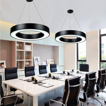 Lámpara de LEDcolgante LED hierro acrílico nórdico de PkZuiXO