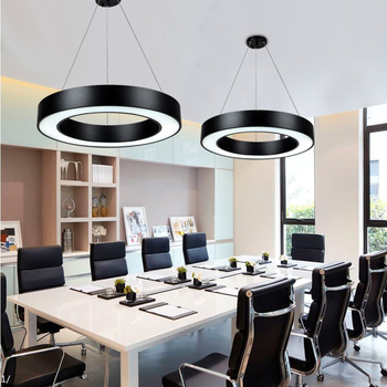 LED Lámpara LEDcolgante acrílico hierro nórdico de de nvmwO8N0