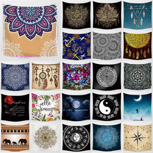 Unicorn  mandala style wall hanging tapestry big home decoration art tapestrybedroom large size 1750mm*1750mm