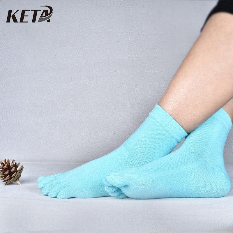 √Keta nueva moda las mujeres coloridas del dedo de Calcetines ...
