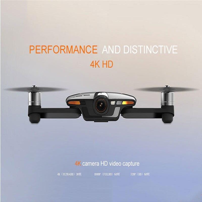 NEW RC DRONE Tasca Selfie Quadcopter WiFi FPV Con 4 k UHD Macchina Fotografica FPV Drone RC Giocattoli RC Elicottero professionale