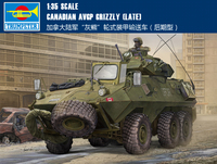 Trumpet 01505 1:35 Canadian grizzly bear armored vehicle (late type) Assembly model