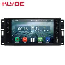 Octa Core 4G Android 8,1 4G B оперативная память 6 4G встроенная DVD мультимедийный плеер радио для Dodge Dura Journey Challenger 1500 2500 3500