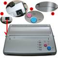 silver Tattoo Transfer Machine Printer Drawing Thermal Stencil Maker Copier for Tattoo Transfer Paper Copy Supply