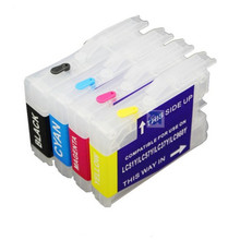 refillable Ink cartridge for brother LC51 LC37 LC57 LC970 lc1000 DCP-130C 135C 150C DCP-330C DCP-350C